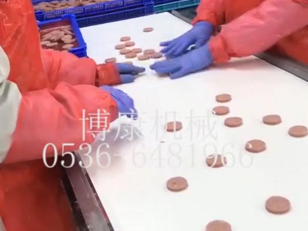 裹粉猪排生产线