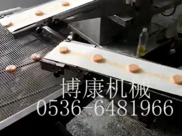 南瓜饼生产线