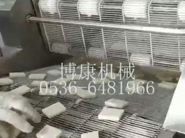 脆皮年糕生产线